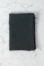 "Washed French Linen Queen Pillow Case - Standard - Storm Grey - 20"" x 28"""