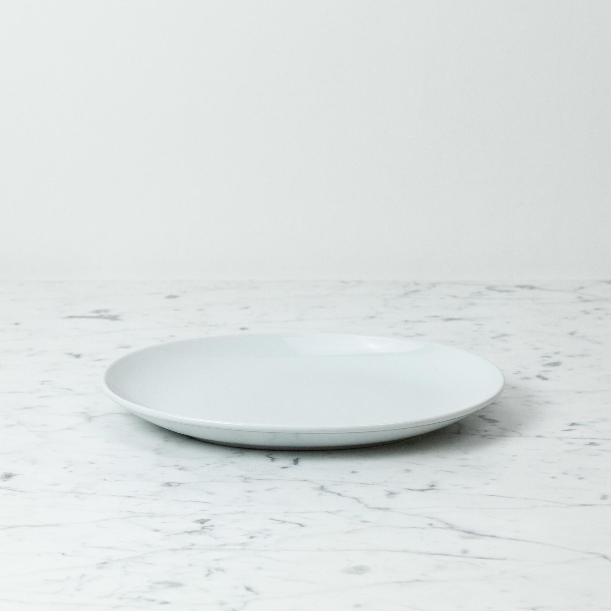 """Saikai Toki Everyday Serving Plate - White - 10.5"""""""