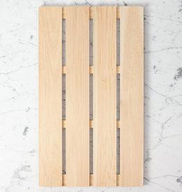 "Japanese Hinoki Aromatic Bath Mat - Large - 14 x 23.5"""