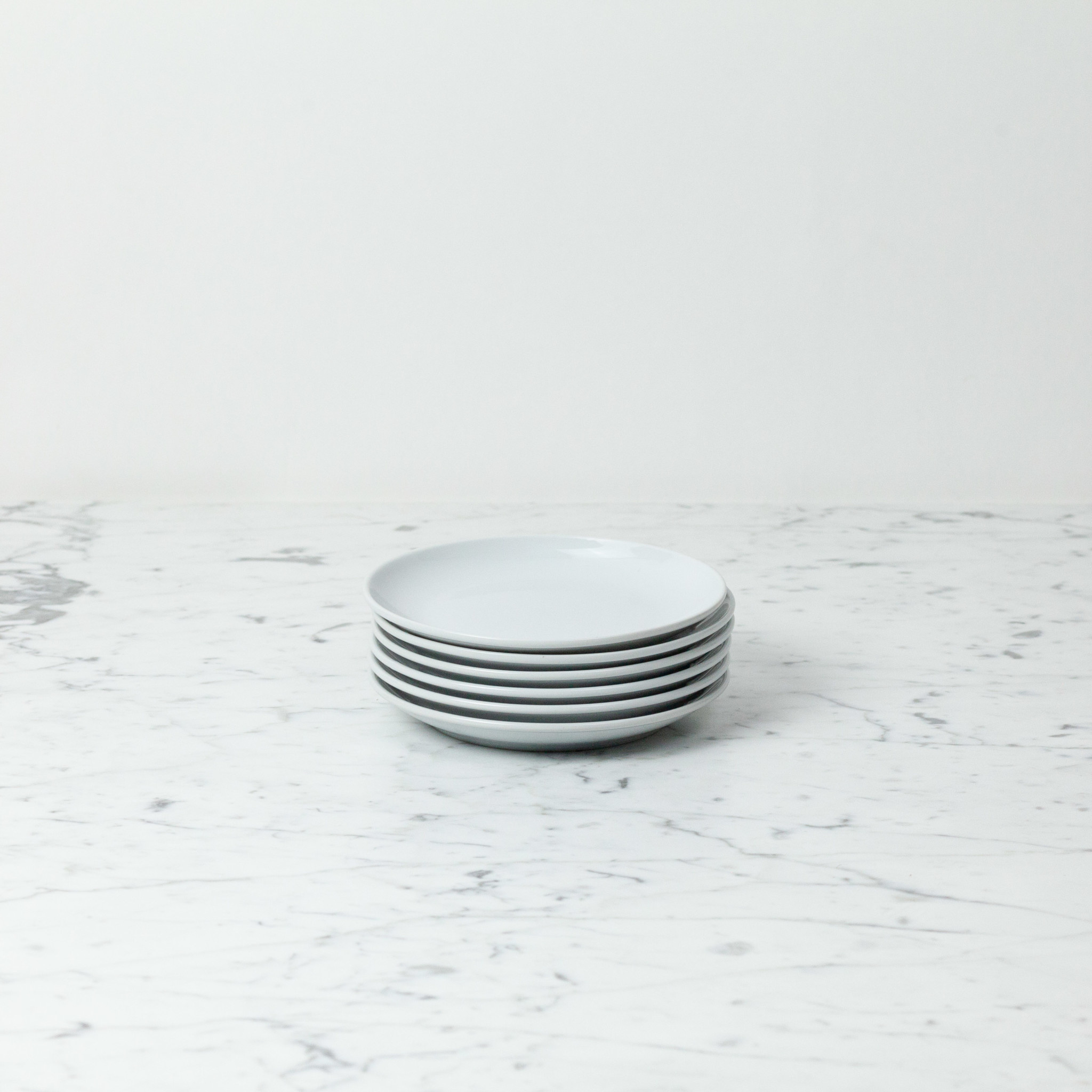 "Everyday Tiny Plate - White - 6"""