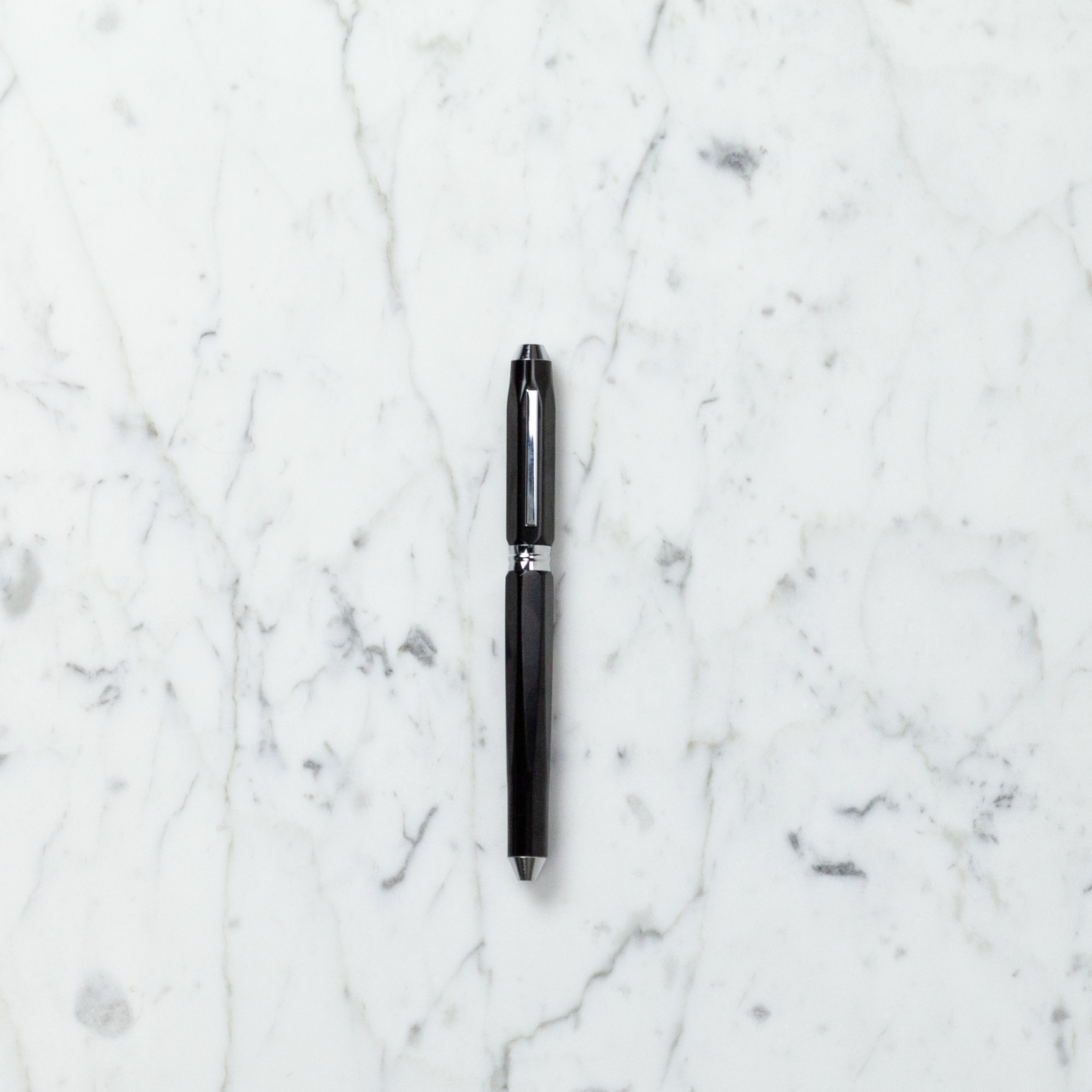 Ohto Dude Ceramic Rollerball Pen - Black - .5mm