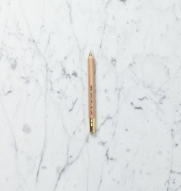 Ohto Wooden Ballpoint Pen - Natural