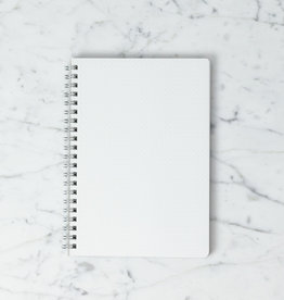 FOB Spiral Notebook - Cross Grid - A5