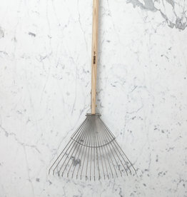 Sneeboer Hand Forged 20 Tine Long Leaf Rake - 70""