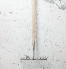 Sneeboer Hand Forged 10 Tine Garden Rake