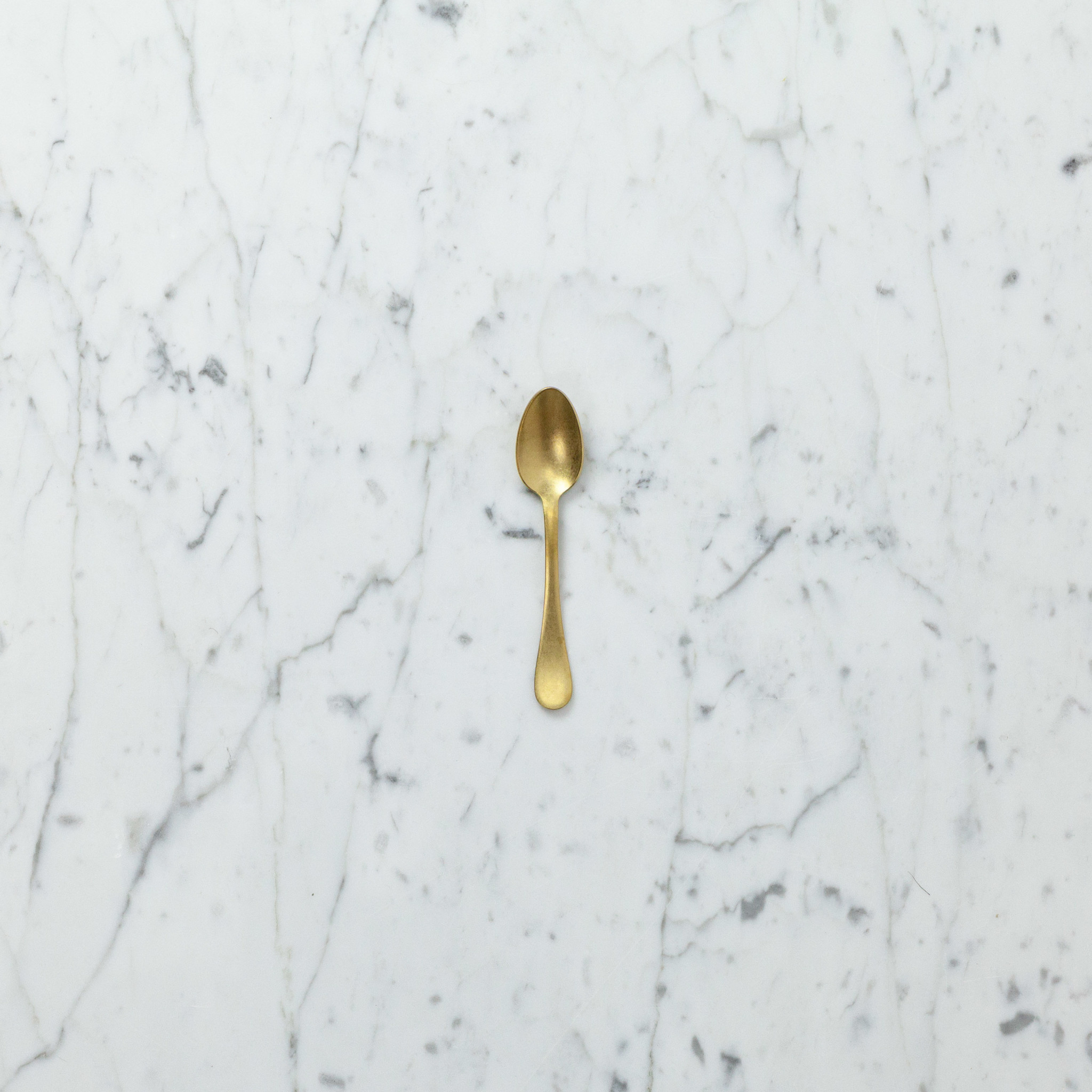 Italian Vintage Style Moka Spoon - Vintage Gold