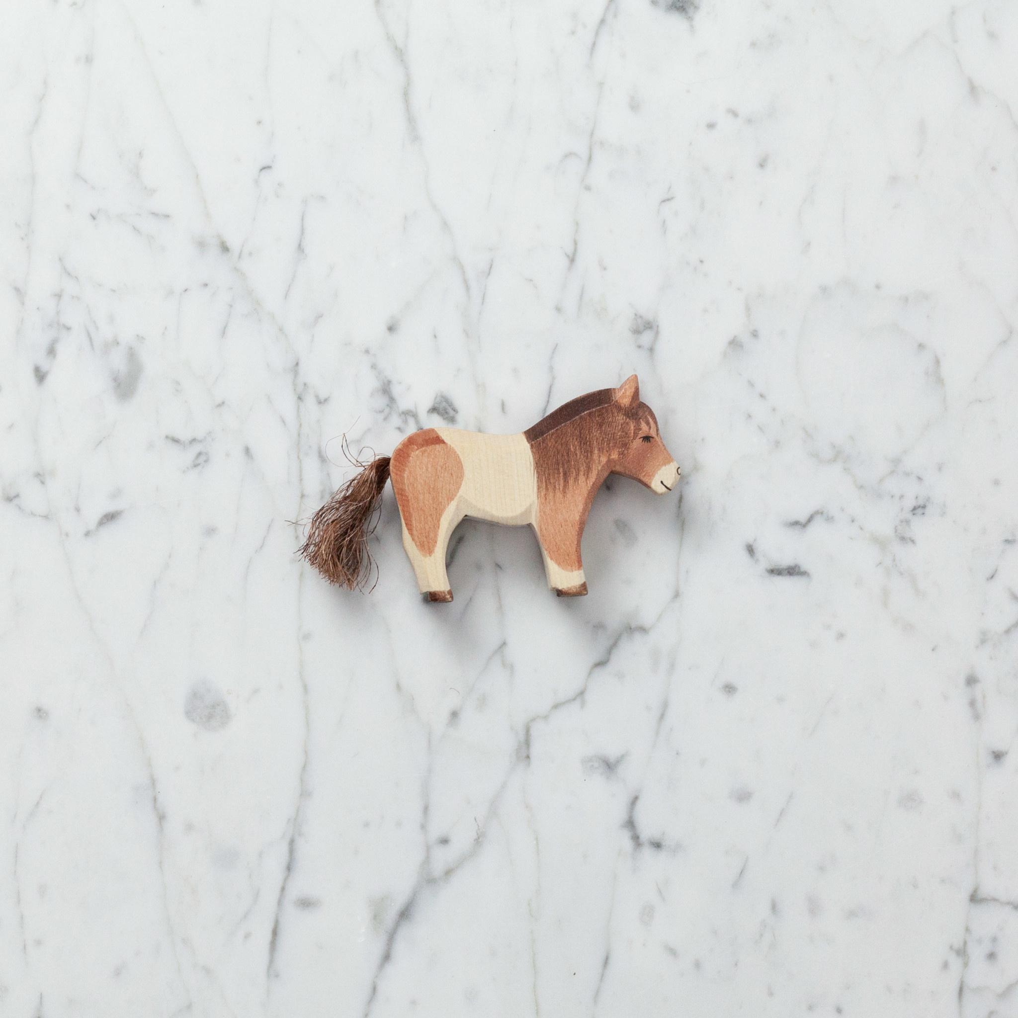 Ostheimer Toys Shetland Pony - Seal Brown Brunette