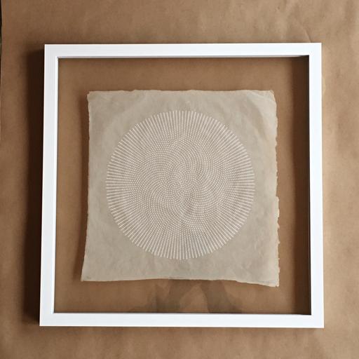 James Kleiner James Kleiner Spiral Print on Handmade Paper - Unframed - Edition of 10