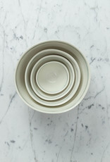 "Nicole Aquillano Nicole Aquillano Porcelain Simple Line Nesting Bowl - Large - 7.5"""