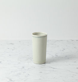 "Nicole Aquillano Nicole Aquillano Porcelain Simple Line Tall Vase - 6.5"""