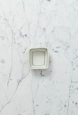 "Nicole Aquillano Nicole Aquillano Porcelain Simple Line Tiny Square Dish - 2.75"""