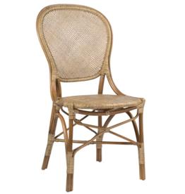 Sika-Design Rossini Rattan Bistro Side Chair - Natural