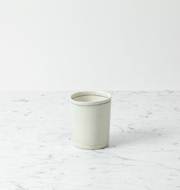 "Nicole Aquillano Nicole Aquillano Porcelain Simple Wide Vase - 4.5"""