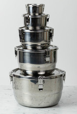 """Stainless Steel Airtight Storage Container - 10"""""""