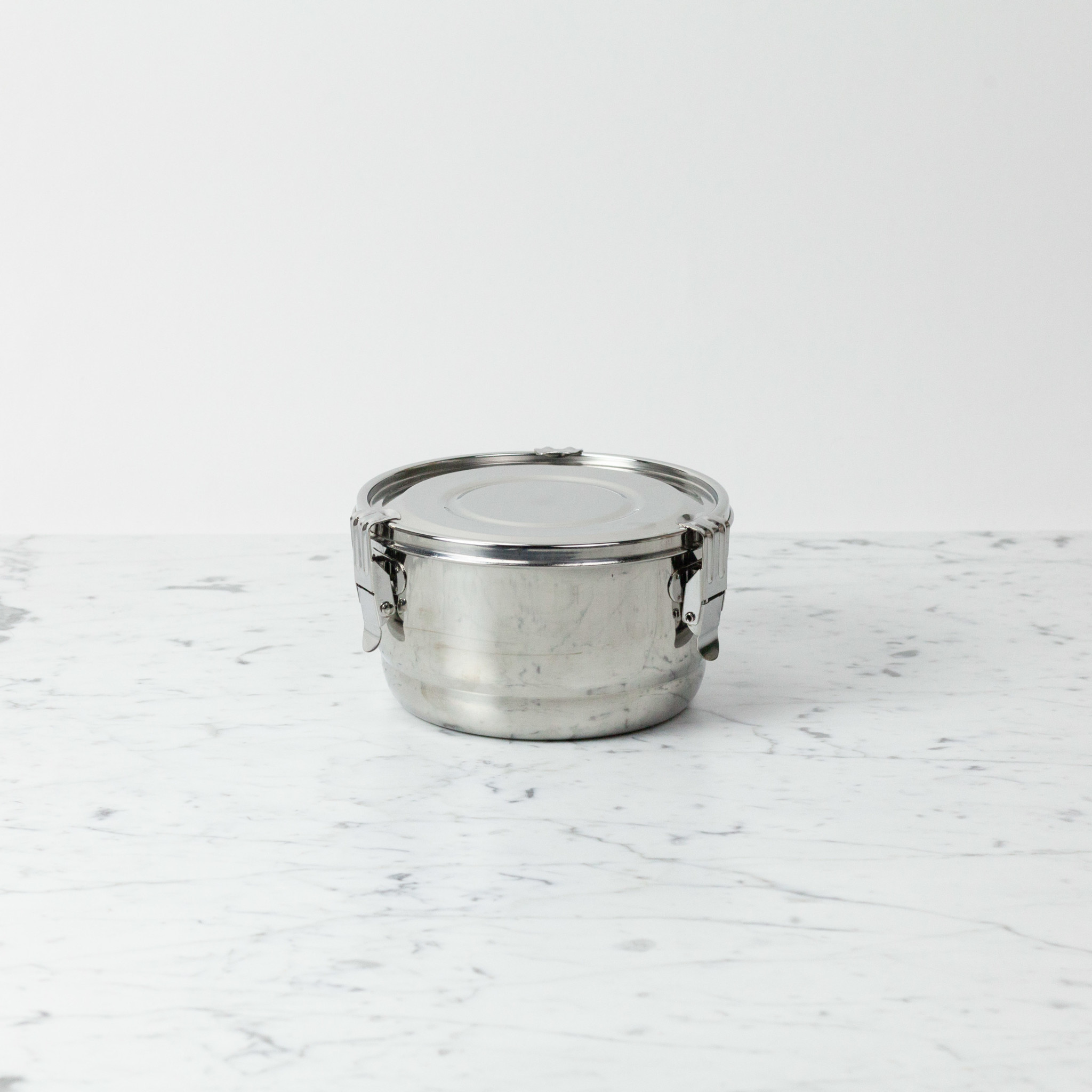 """Stainless Steel Airtight Storage Container - 6"""""""