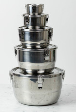 Stainless Steel Airtight Storage Container - 6""