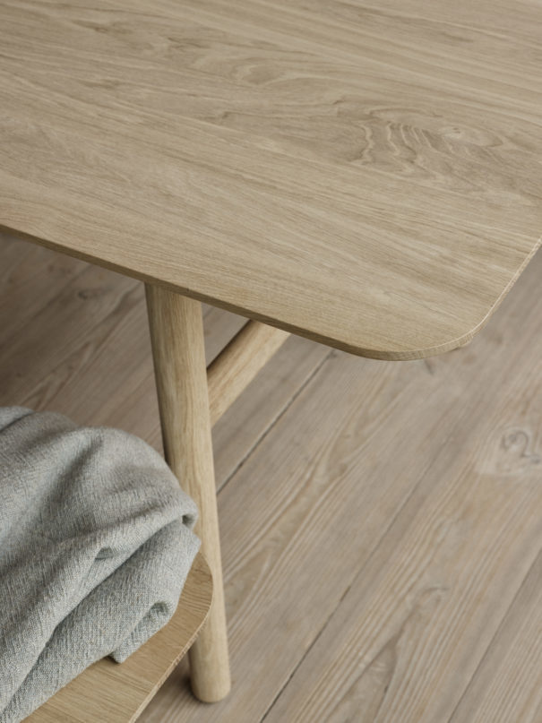 Skagerak Hven Small Dining Table - Oak - Natural Oil Treatment