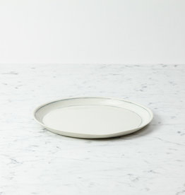 "Nicole Aquillano Nicole Aquillano Porcelain Simple Line Dinner Plate - 10.25"""