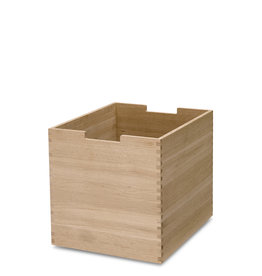 Skagerak Cutter Tall Storage Box with Notches - Oak