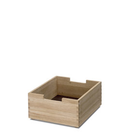 Skagerak Cutter Short Storage Box with Notches - Oak