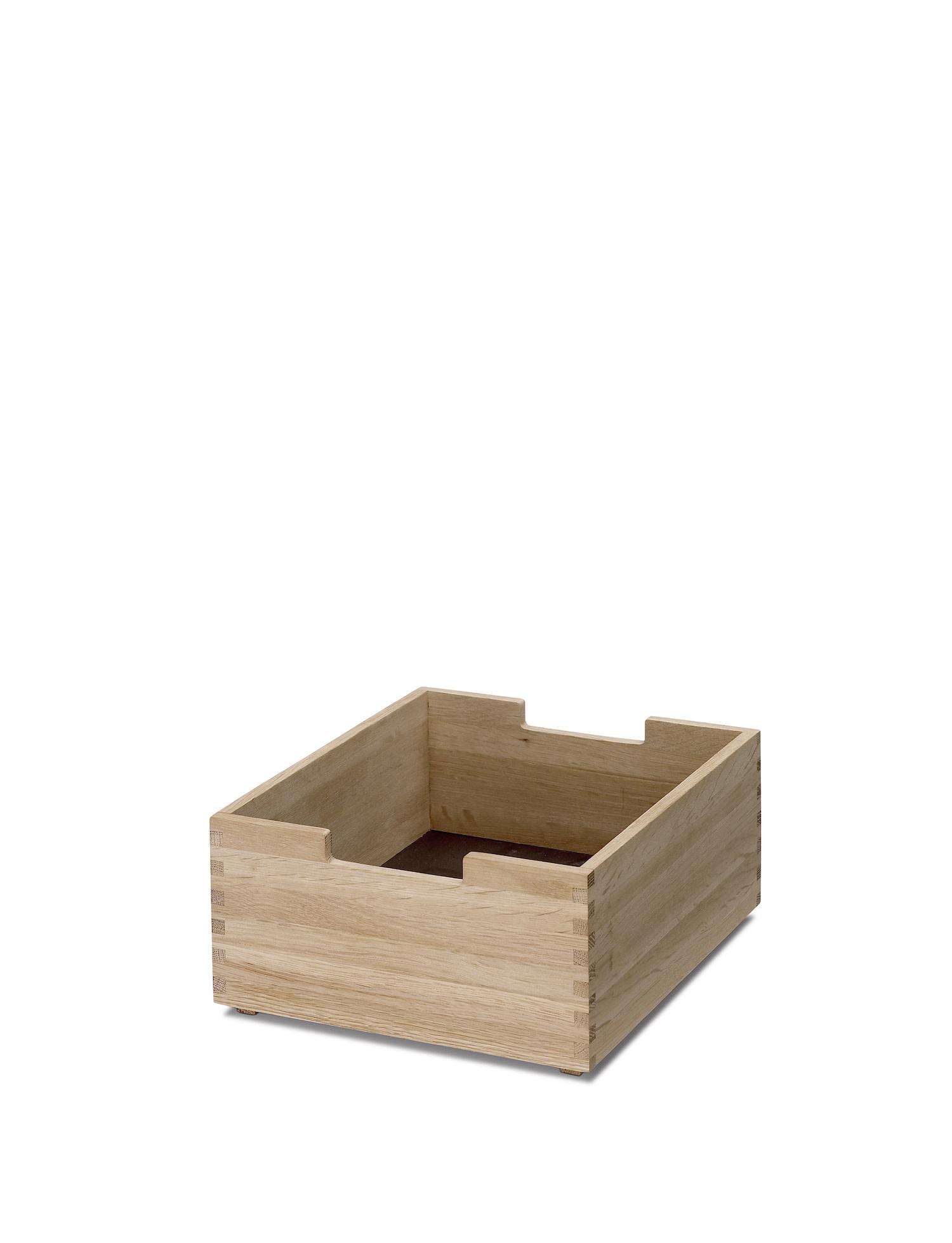 Skagerak Cutter Short Storage Box with Notches - Oak