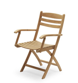 Skagerak Selandia Folding Armchair - Teak