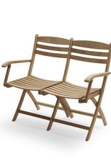 Skagerak Selandia Outdoor Two Seater Bench - Teak