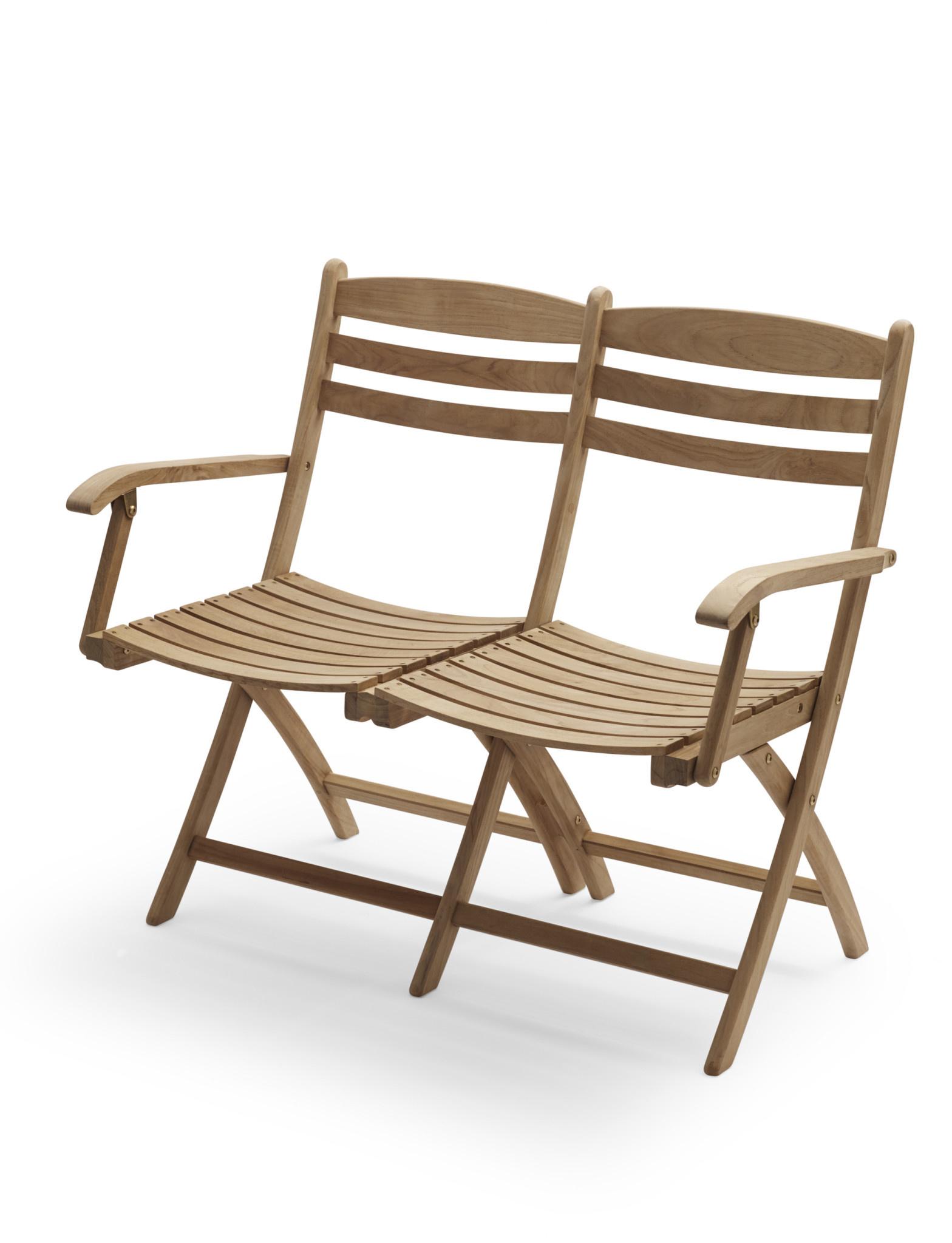 Skagerak Selandia Two Seater Bench - Teak