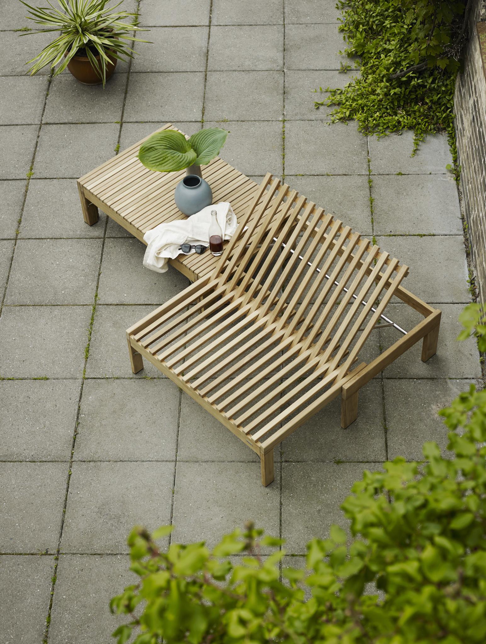 Skagerak Riviera Convertible Long Lounge Bench