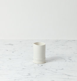 "John Julian John Julian Hand Thrown Porcelain Classical Pitcher - Full Glaze - 4 1/4"" in"
