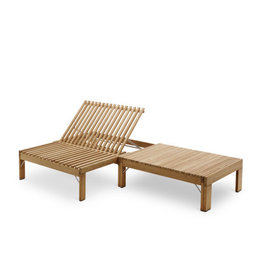 Skagerak Riviera Convertible Long Lounge Bench