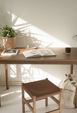 Sun at Six Coast Table Rectangular - Solid White Oak - Sienna