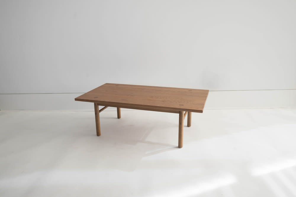 Sun at Six PREORDER Yuba Coffee Table - Solid White Oak - Sienna
