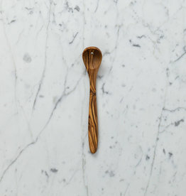 Dainty Olive Wood Olive Serving Spoon with Hole