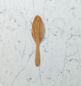 Olive Wood Cake Trowel Server