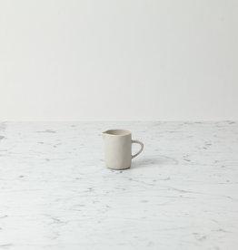 Tiny Stoneware Creamer - White