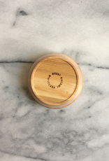 "PREORDER Hasami Ash Wood Round Tray - Tiny - with Tight Seal - 3 1/4"" x 1 1/4"""