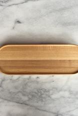 "PREORDER Hasami Ash Wood Oval Tray - Long - 10"" x 3"""