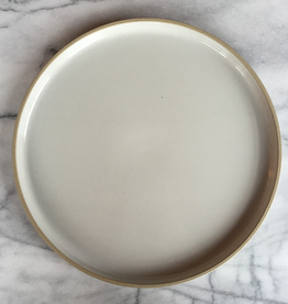 """PREORDER Hasami Porcelain Plate - Extra Large - Gloss Grey - 11 3/4"""" x 3/4"""""""