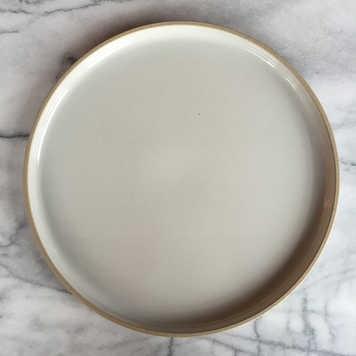 "Hasami Porcelain Plate - Extra Large - Gloss Grey - 11 3/4"" x 3/4"""