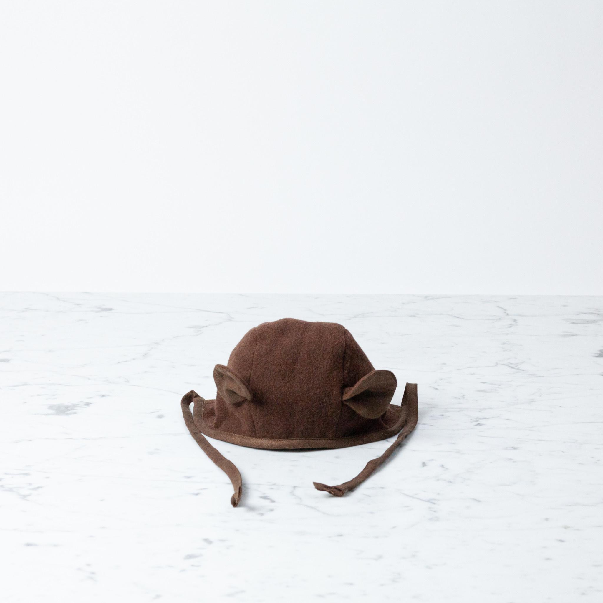 Briar Handmade Briar Handmade Bear Bonnet - 6 - 12 Month