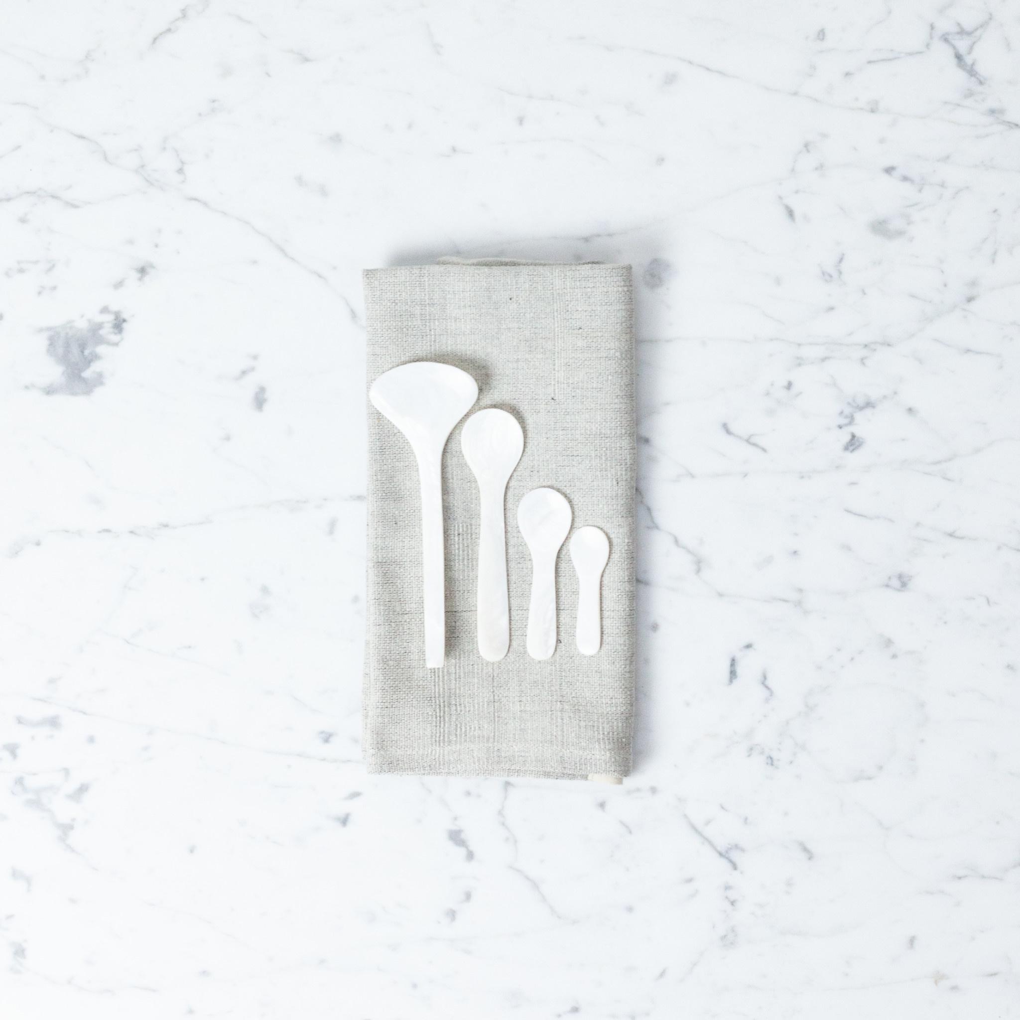 "Sea Shell Mini Spoon - 2"""