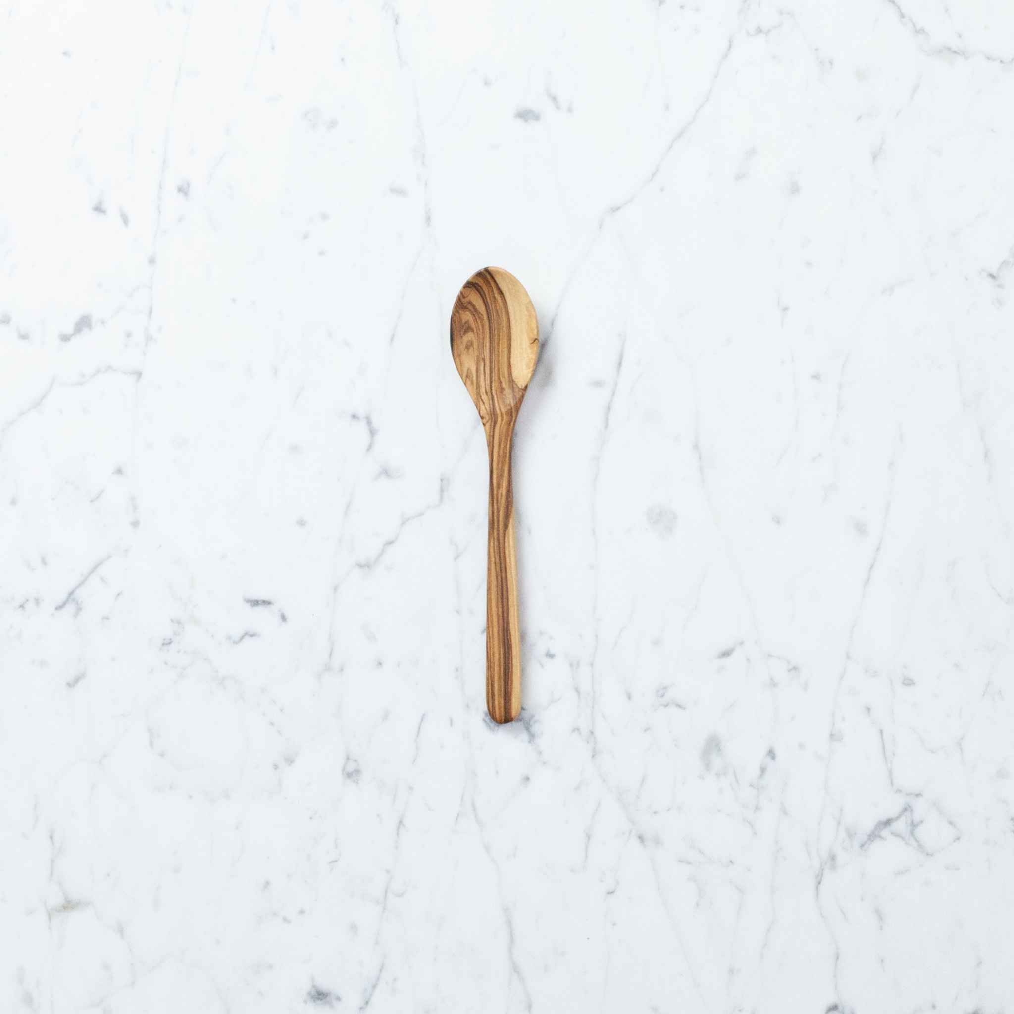 Olive Wood Children's Cooking or Serving Spoon Medium - 8.5""