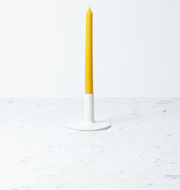 Notary Ceramics Notary Large Candlestick Matte White