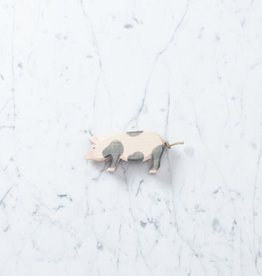 Ostheimer Toys Spotted Pig Head Low