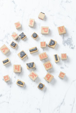 Spanish Lower Case Letter Stamps