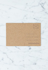 "Cork Postcard - 6 x 4"""