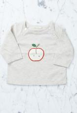 Tane Organics Apple Seed Sweater - Chalk - 12-18 month
