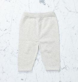 Tane Organics Sweater Knit Pants - Chalk - 6-12 month