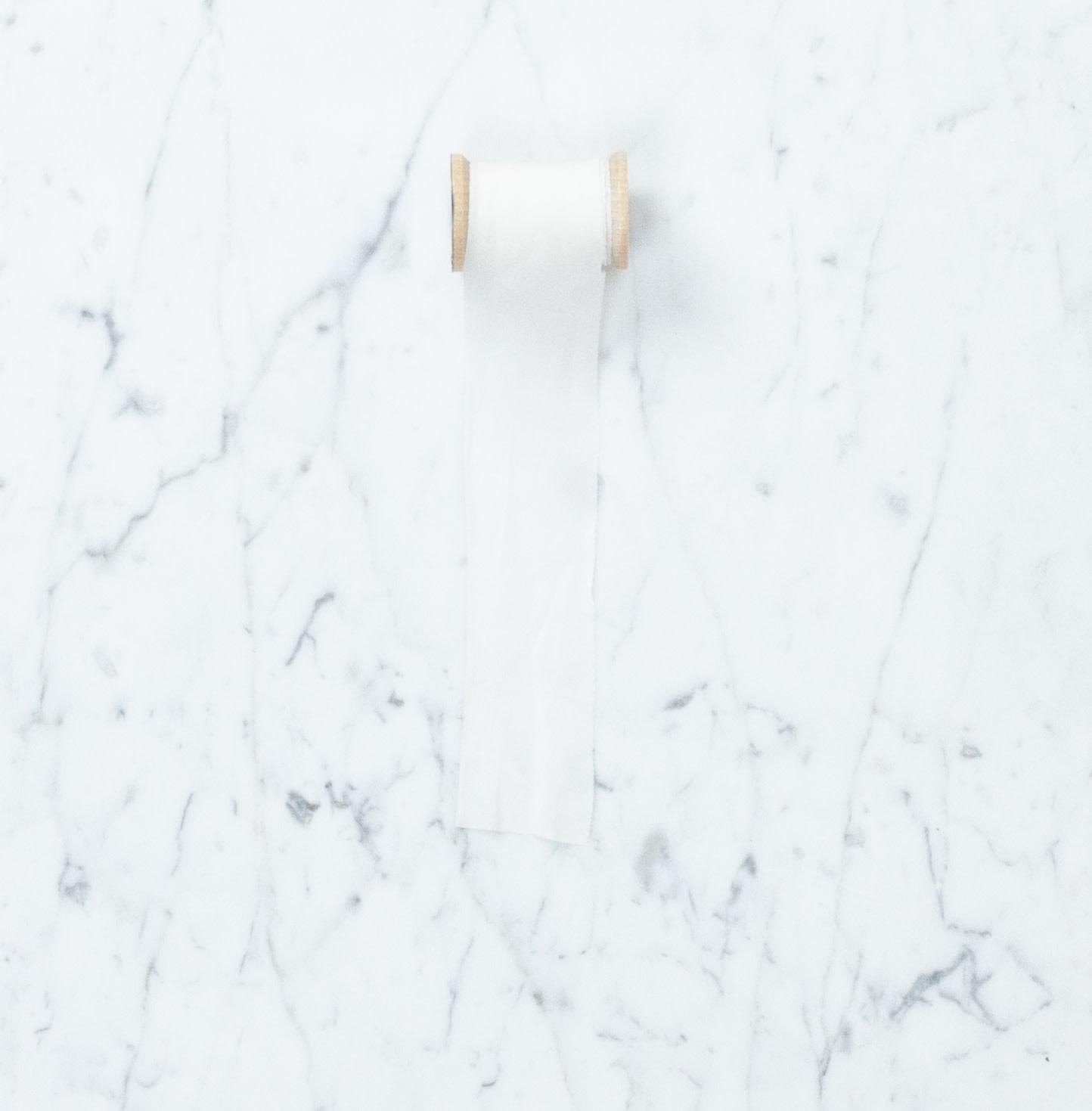 Northern Dyer Northern Dyer Natural Dye Silk Ribbon - White - 6'